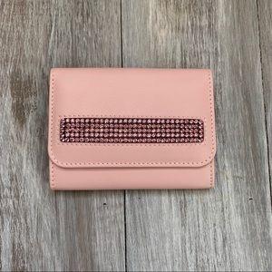 Swarovski Pink Leather Wallet